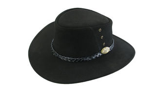 Cow Suede Leather Jacaru Hat