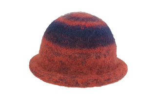 Poppy Navy Felted Hat