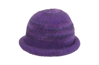 Purple Felted Hat