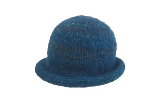 Teal Felted Hat