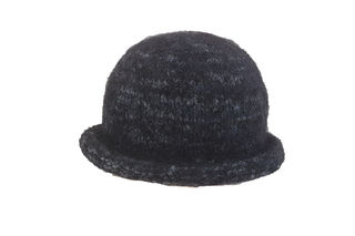 Black Grey Felted Hat
