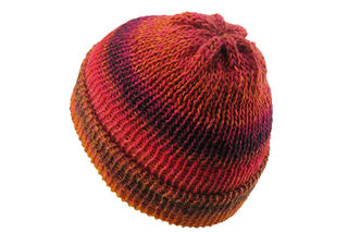 Red Orange Beanie