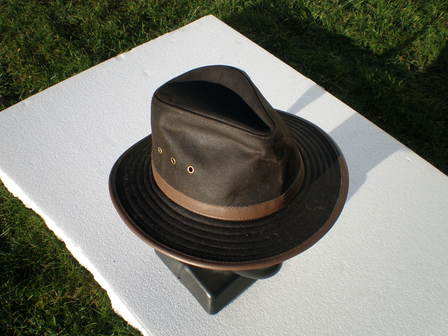 Oil Skin Hat Outback